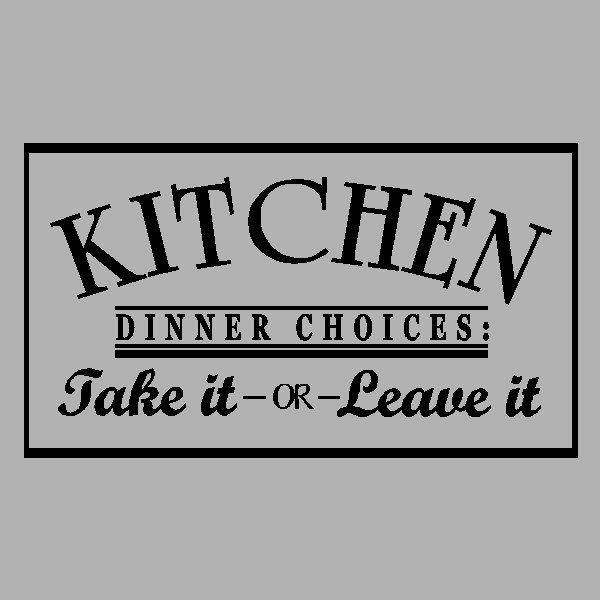 Best Kitchen Text Ideas Images On Pinterest Kitchen Wall - Custom vinyl wall decals for kitchen