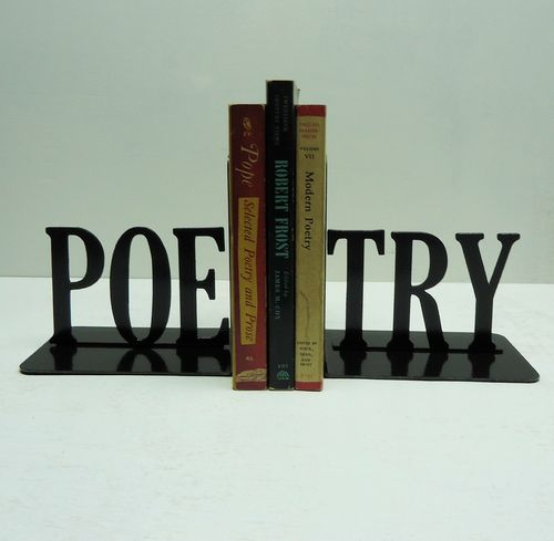 Dope.: Future Houses, Poetry Texts, Poetry Books, Books Holders, Poetry Bookends, Metals Art, Creek Metals, Metal Art, Be Awesome