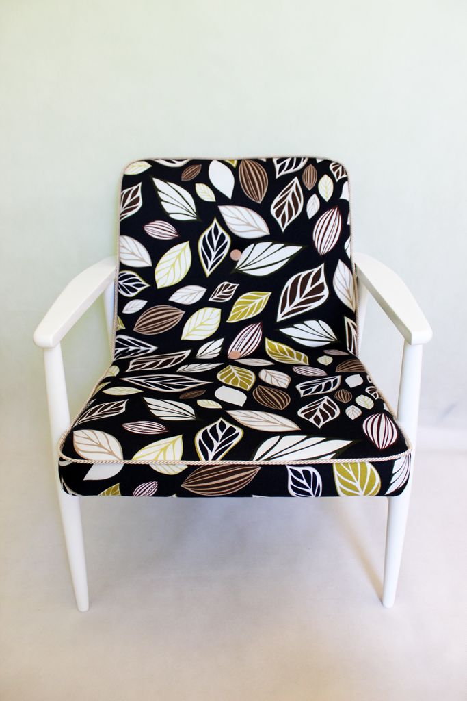 Easy chair, vintage armchair after renovation.    Handmade by Rekoko.     Visit: www.rekoko.pl https://www.facebook.com/justynamagierrekoko/