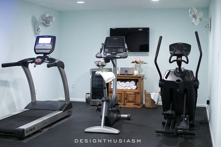 10 Ways to Add Style and Function to Your Home Gym Design   Designthusiasm.com