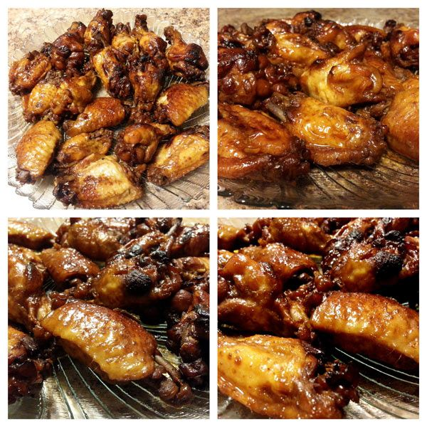 Teriyaki Chicken Wings - pressurecookingtoday.com - Chicken wings in a quick, delicious sauce cooked in the pressure cooker for 7 minutes, so they're tender and juicy, then crisped up in the oven so they're sticky and sweet.