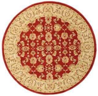 Ziegler Kaspin - Rood tapijt  Ø200
