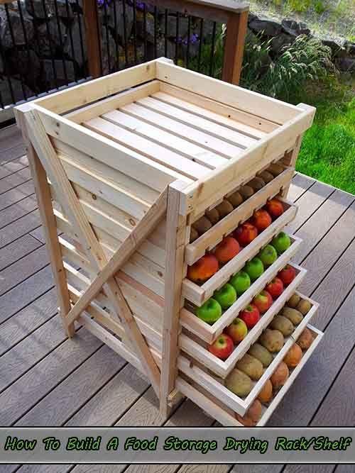 How To Build A Food Storage Drying Rack/Shelf - LivingGreenAndFrugally.com