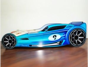 "Pat copii masina ""Blue Hot Wheels"" -"