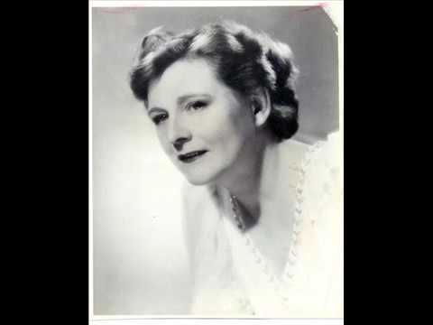 MAGGIE TEYTE SINGS   -  LULLABY cyril scott 1942 BROADCAST
