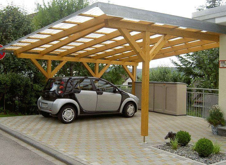 Carport 2 Carports Carport Modern Carport Selber Bauen