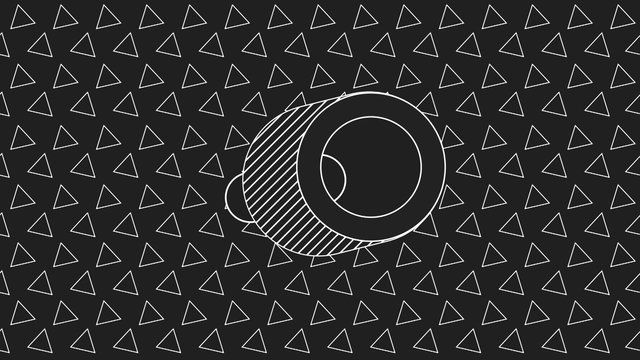 Just goofing around with some pattern animation tests. Nothing else to it. Weird.