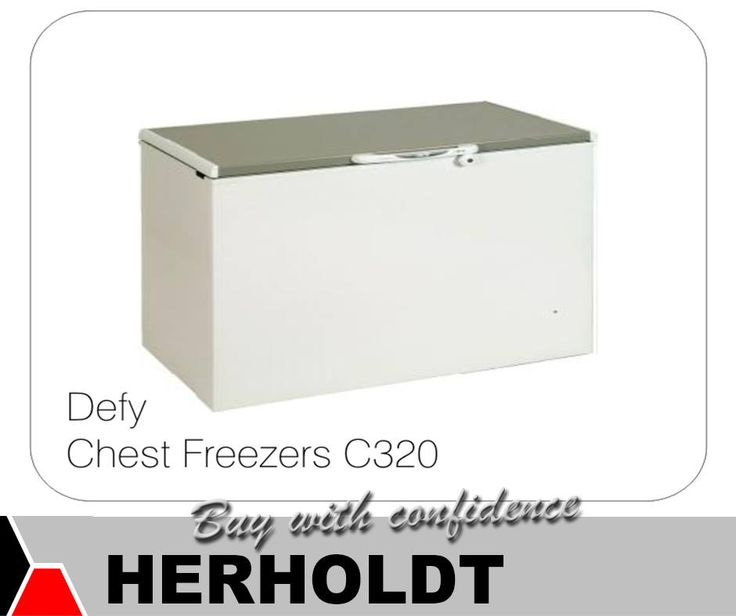 Do you have a lot of food that needs to be frozen in order to take care of your large household? Then you definitely have to get your hands on the #Defy Chest Freezer C320 from #Herholdt.