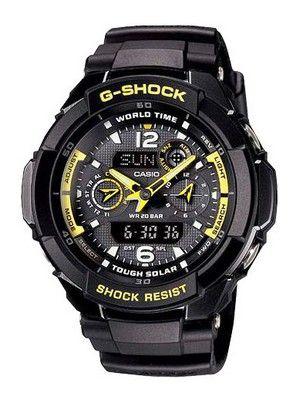 Casio G-Shock Solar G-1250B-1ADR G-1250B-1A Men's Watch $199