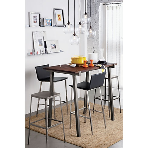 vice high dining table in dining tables | CB2