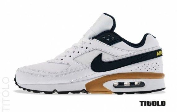 Nike Air Classic BW – White – Navy – Gold