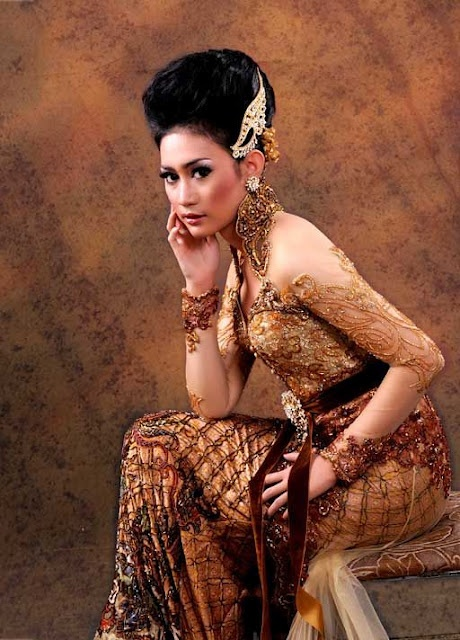 Golden Color Kebaya Collection | Indonesia