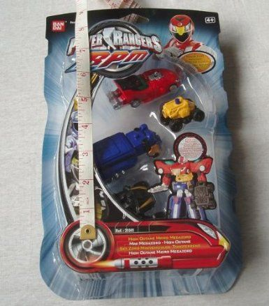 Power Rangers - 31041 - RPM - Racing Performnace Machines - High Octane Micro Megazord: Amazon.co.uk: Toys & Games