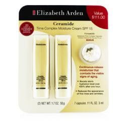 Ceramide Set: 2x Time Complex Moisture Cream Spf 15 50g + Advanced Time Complex Capsules 3ml --3pcs