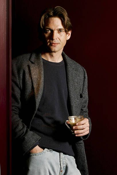 Actor Dougray Scott poses for a portrait shoot for the Sunday Times newspaper in London on February 3, 2004.