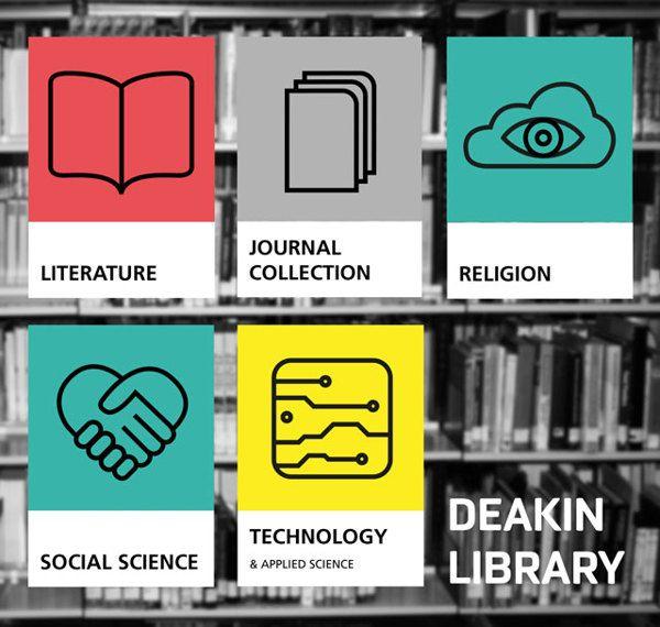 Library Wayfinding on Behance