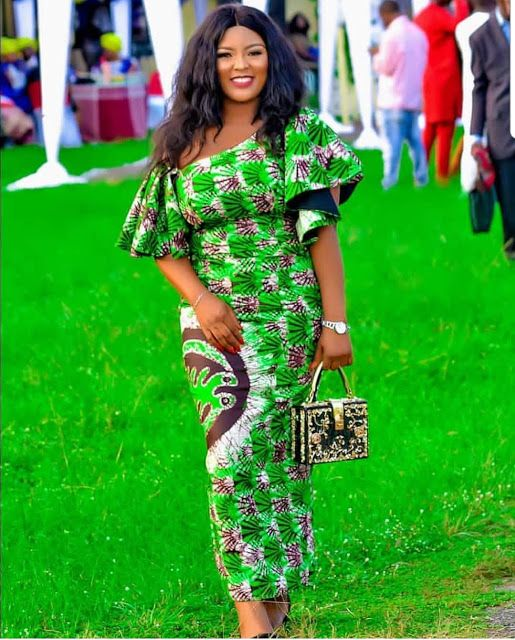 20 Pictures of Best Ankara Styles to Rock 2019