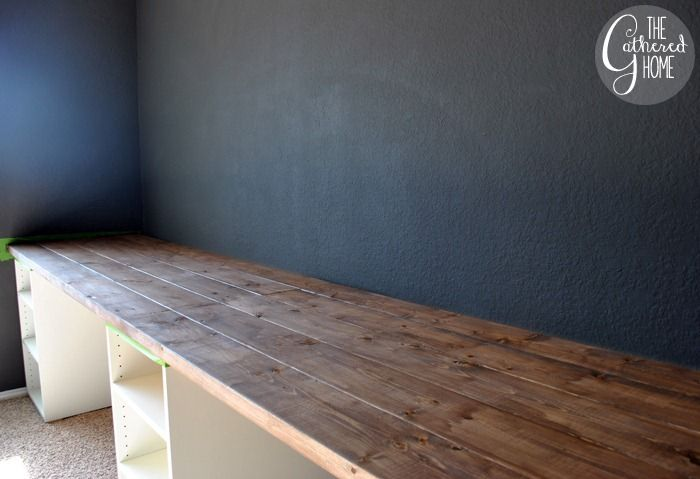 how to make a diy plank top ikea cabinet desk ikea hack desk ikea hack and desks