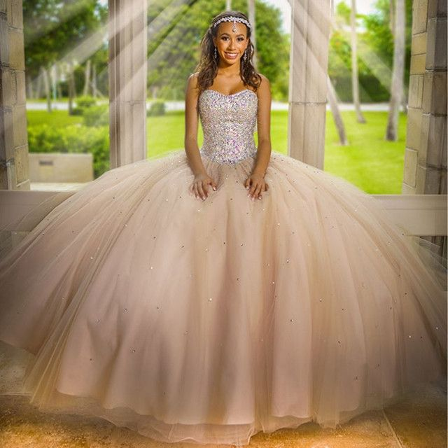 champagne quinceanera dresses,ball gowns quinceanera dresses,sweet 16 dresses,ball gowns