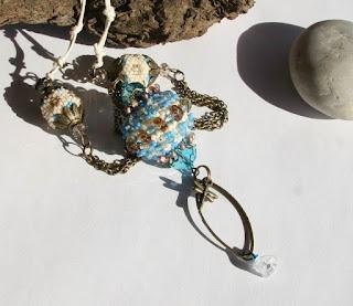 Bogyó Marcsa - swarovski gyöngybogyós nyaklánc