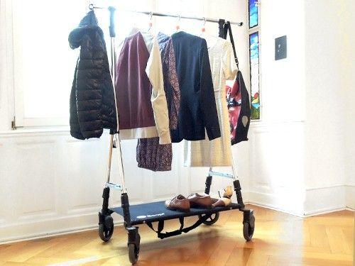 #Soopl Fashion #Trolley  Faltbarer #Kleiderständer konzipiert für Showroom, Event, Store oder für Zuhause.  https://www.gebrauchsgut.com/Ambiente/Soopl-Fashion-Trolley?pk_campaign=tomNov2015&pk_kwd=socialmedia