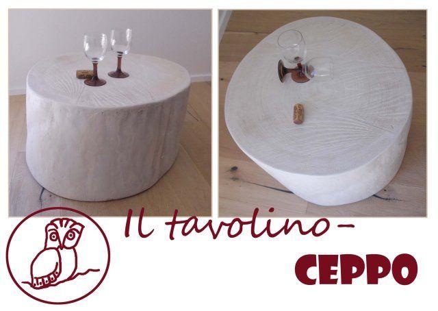 #tavolino #ceppo