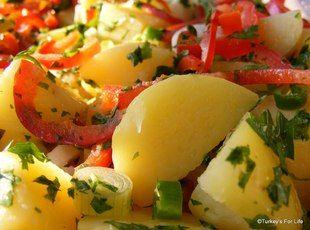Patates Salatas? (Turkish Potato Salad)
