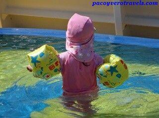 Piscina infantil #cruceroconniños http://www.pacoyverotravels.com/2014/03/razones-para-hacer-un-crucero-con-ninos.html