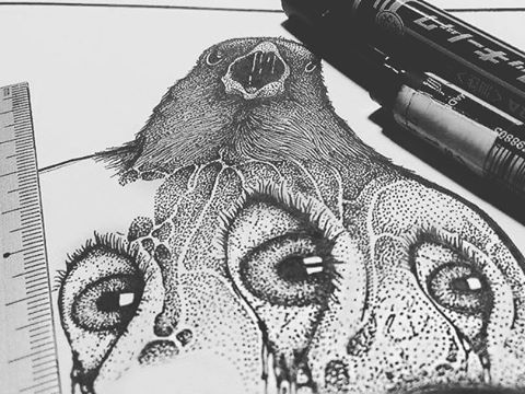 The Line Artwork : Best to do line art images ink brow and brown