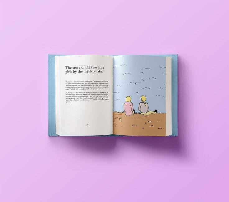 Illustration for children's book by Ioanna Merope Kakoulidi
