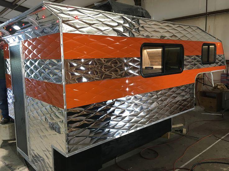 218 best brand new campers images on pinterest caravan campers and truck camper. Black Bedroom Furniture Sets. Home Design Ideas