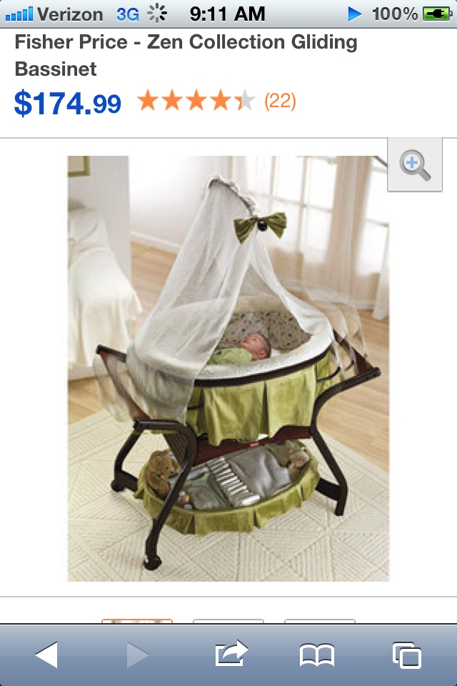 Adorable. Could stay in our room, While crib stays in nursery? Perfect for boy or girl!
