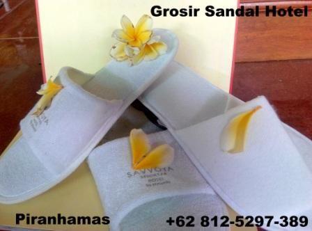 Piranha mas group menyediakan berbagai perlengkapan hotel dengan berbagai macam pilihan sandal untuk kebutuhan hotel atau penginapan serta untuk souvenir dengan kualitas dan harga bersaing.