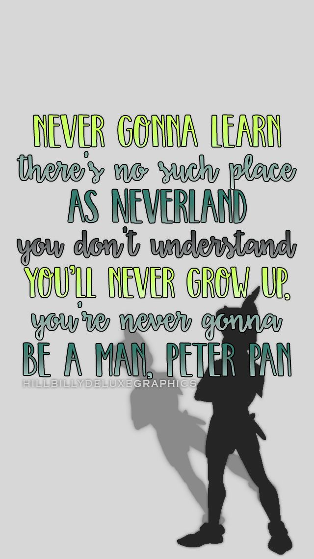 Peter Pan by Kelsea ballerini