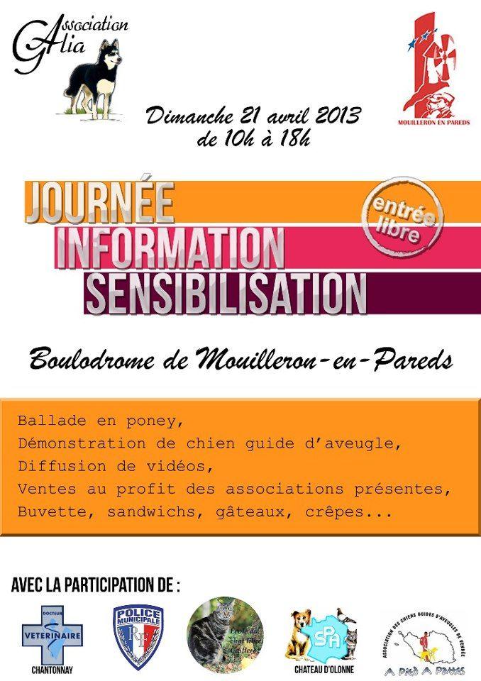 Journée information sensibilisation 21 avril 2013