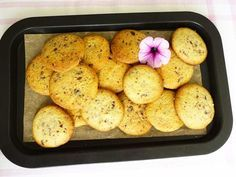 Low Carb Kekse mit Schokosplitter