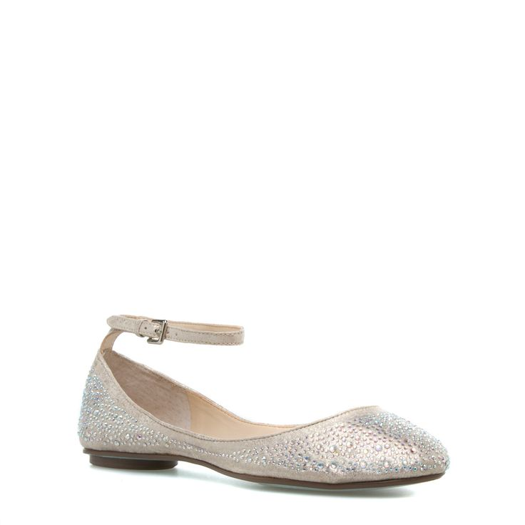 Sparkle flats from shoe dazzle