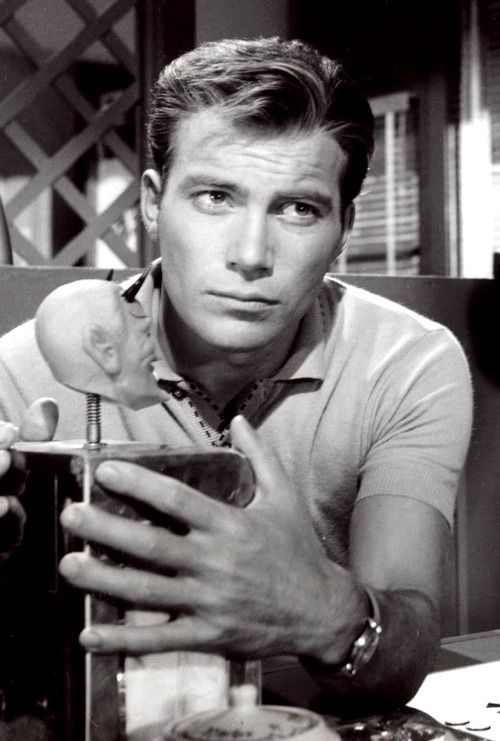 William Shatner-TWILIGHT ZONE Omg!! I loved this one! I had no clue this was him!!!!