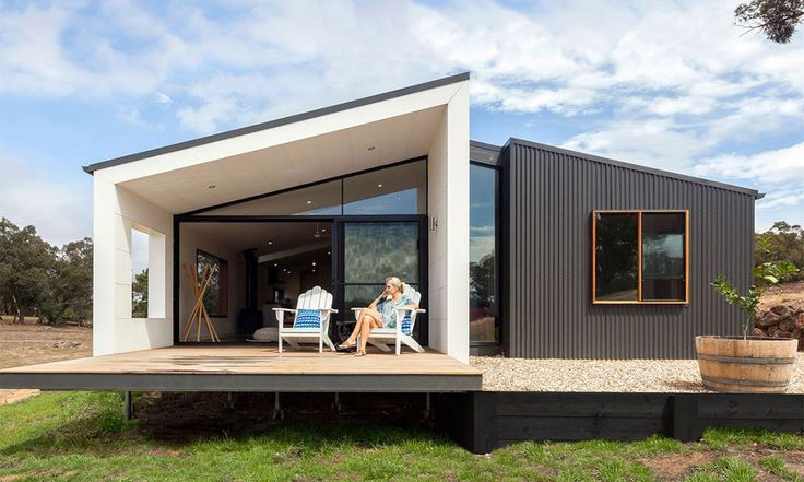 Sustainable design principles are applied to every aspect of Modscape's design, ... - Australia's best prefab homes