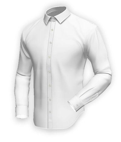 White 100% cotton Shirt http://www.tailor4less.com/en-us/men/shirts/2387-white-100-cotton-shirt