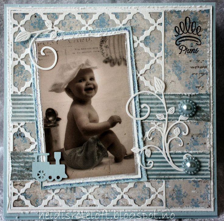 Heidi`s roteloft: Kort til baby, både gutt og jente.