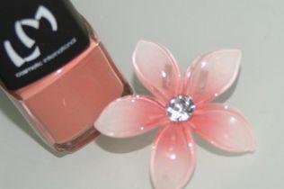 花びらの形に曲げたワイヤーに、マニキュアを塗って膜を作って乾かすと「マニキュアフラワー」という素晴らしい作品ができあがる。そしてそれらはアクセサリーを始めとする…