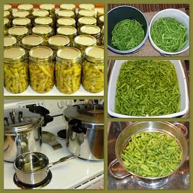 The Iowa Housewife: Home Canned Green Beans