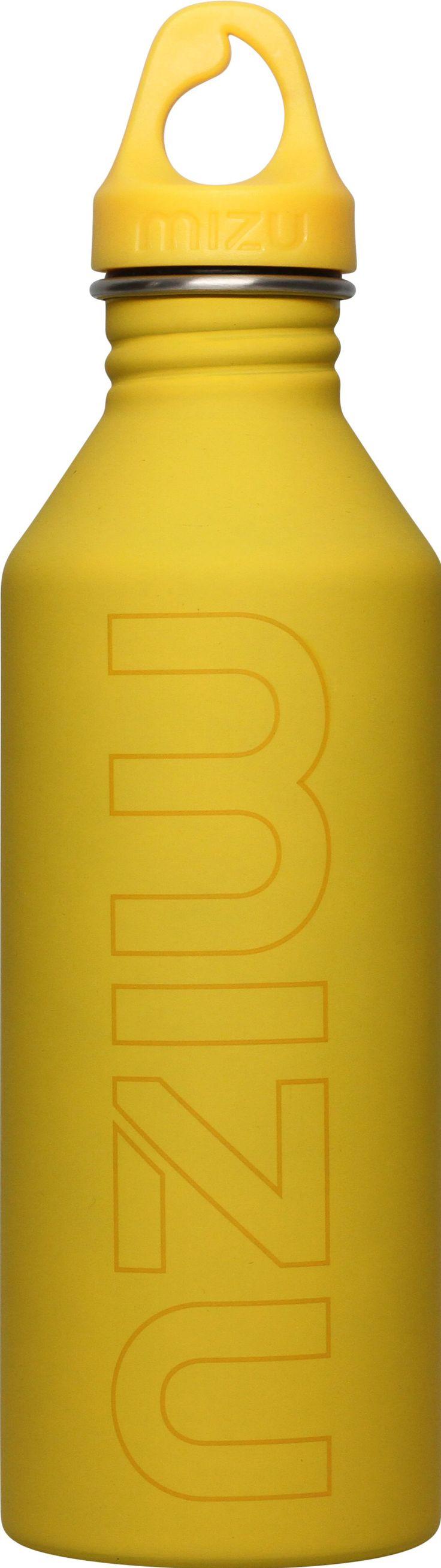 Mizu bottle yellow