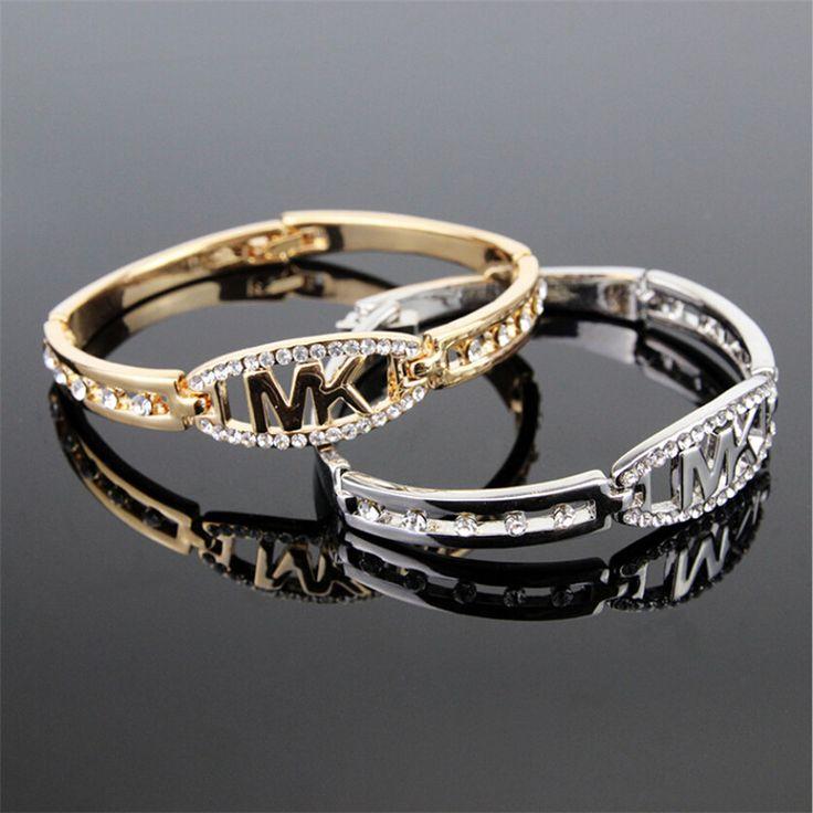 2016 New letter bracelets for men and women charm bracelet bangle jewelry Pulseras watch bracelet gifts