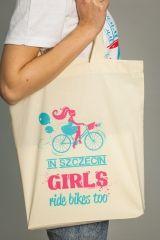 SZCZECIŃSKIE KOSZULKI:  Torba In Szczecin girls ride bikes too