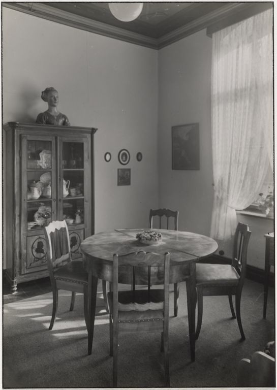 Sander's studio/home, Cologne: Living room (Sander's Studio