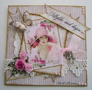 Lady Rose...nice vintage card