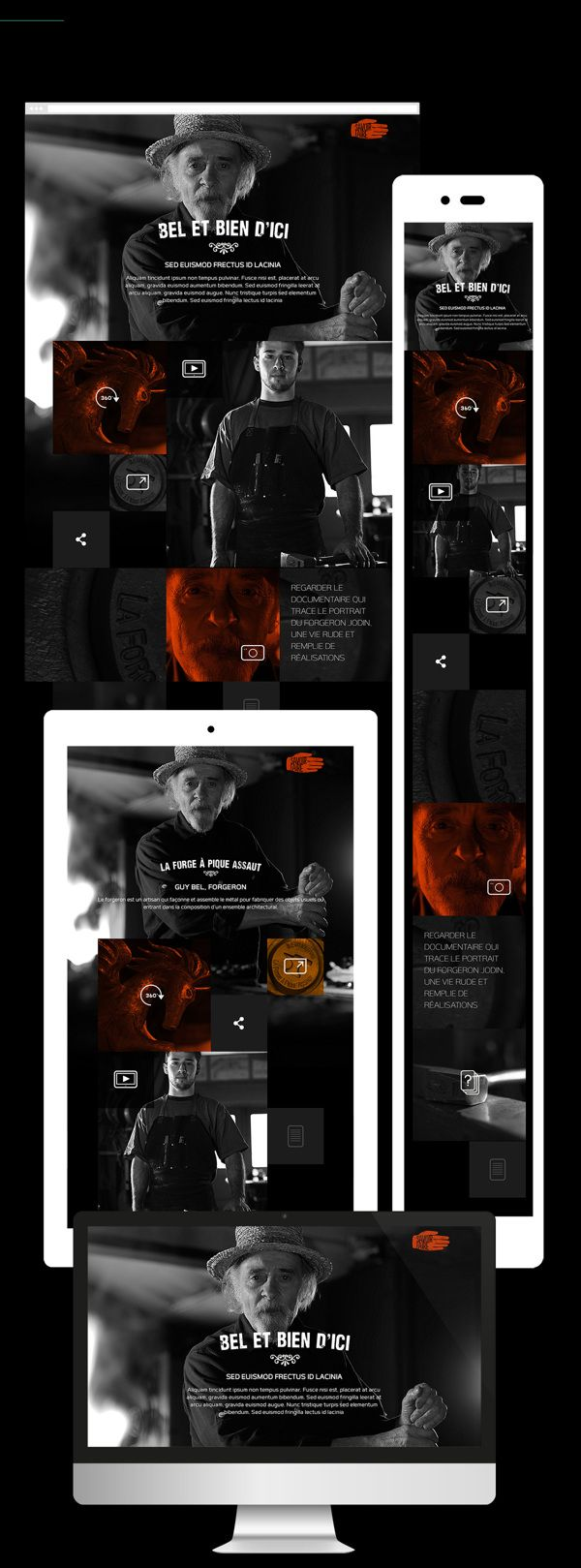 Savoir-Faire Branding and digital platform. by 8 Bis Agency , via Behance
