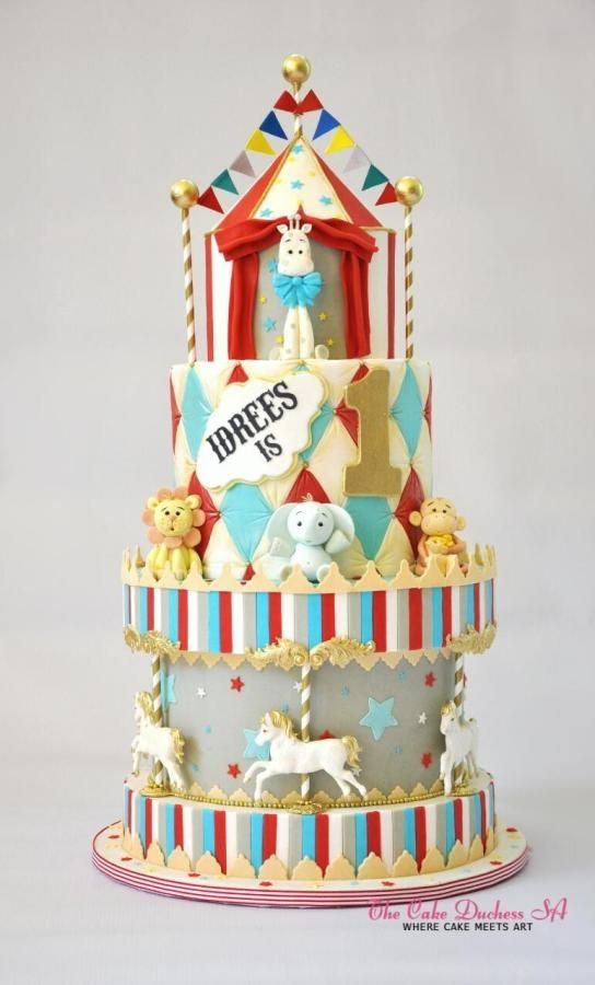 Carnival - http://cakesdecor.com/cakes/260678-carnival